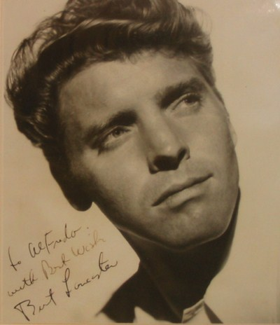 Alfredo's Gallery - Special Guests - Burt Lancaster