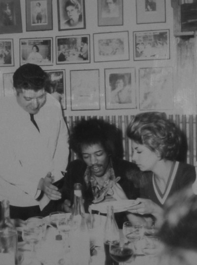 Alfredo's Gallery - Special Guests - Jimi Hendrix