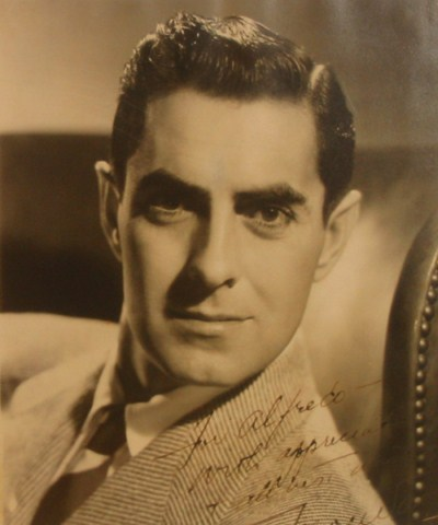 Alfredo's Gallery - Special Guests - Tyrone Power